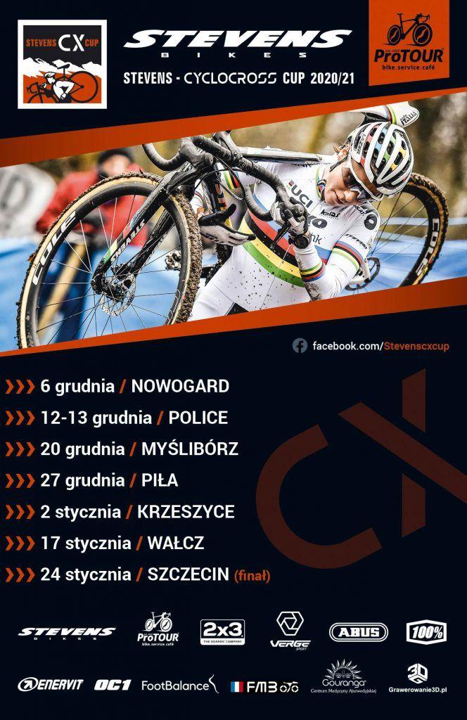 Plakat imprezy Stevens Cyclocross Cup
