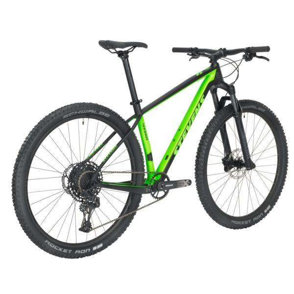 Sonora 29 21 18 Carbon Venom Green rear MY21 Fotor