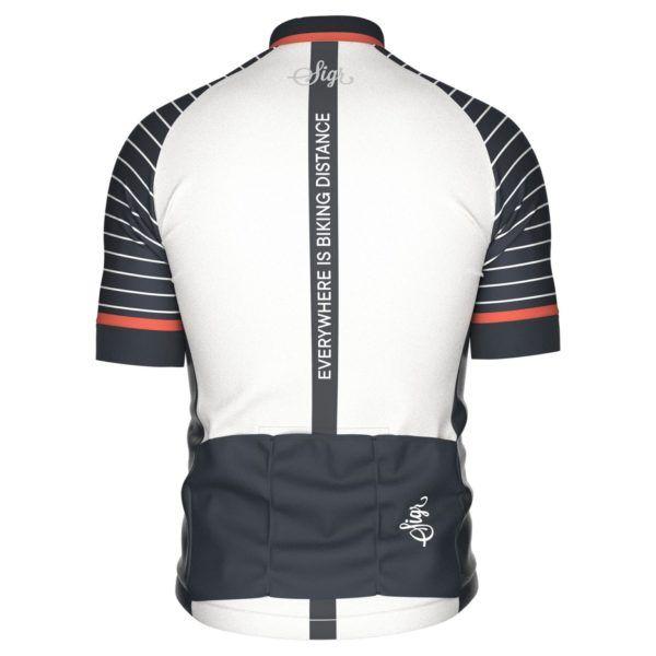 Sigr Black Horizon Cycling Jersey for Men Back 1800x1800