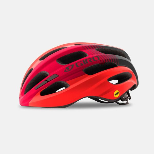 giro isode mips recreational helmet matte red black profile