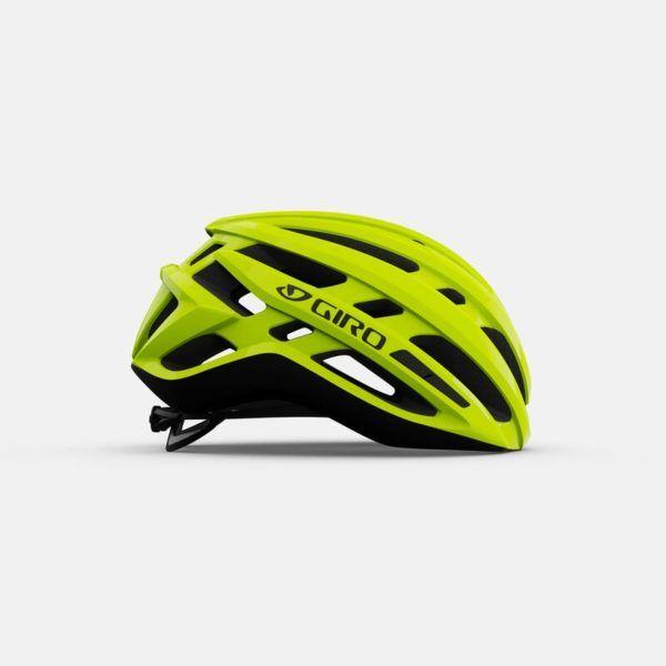 giro agilis mips road helmet highlight yellow right