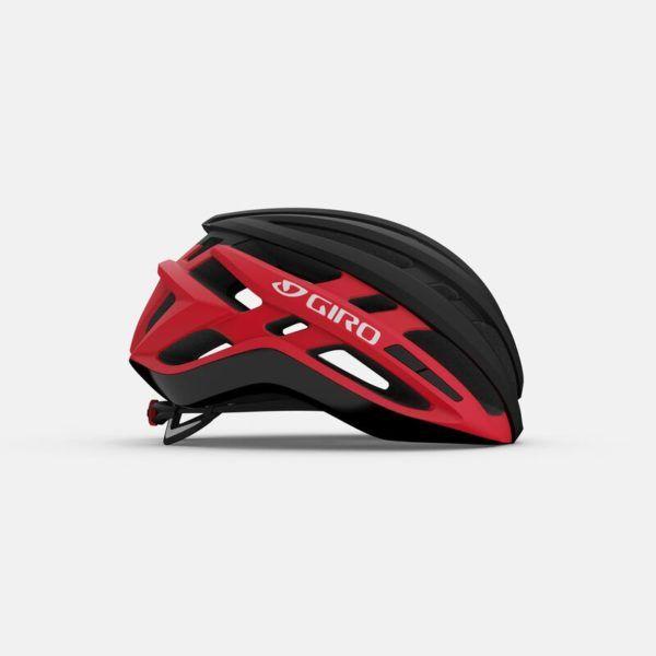 giro agilis mips road helmet matte black bright red right