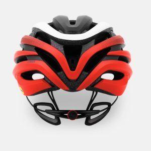 giro cinder mips road helmet matte red back