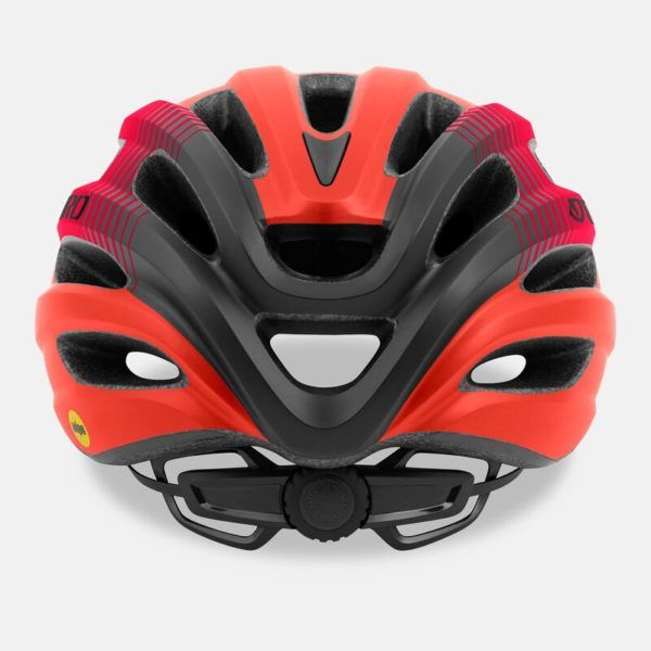 giro isode mips recreational helmet matte red black back
