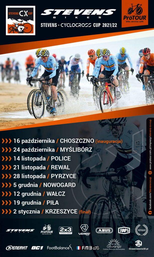 Plakat Stevens Cyclocross Cup 2021/22